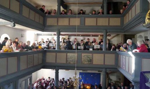 Konzert am 4. Advent in der Walkersbrunner Kirche