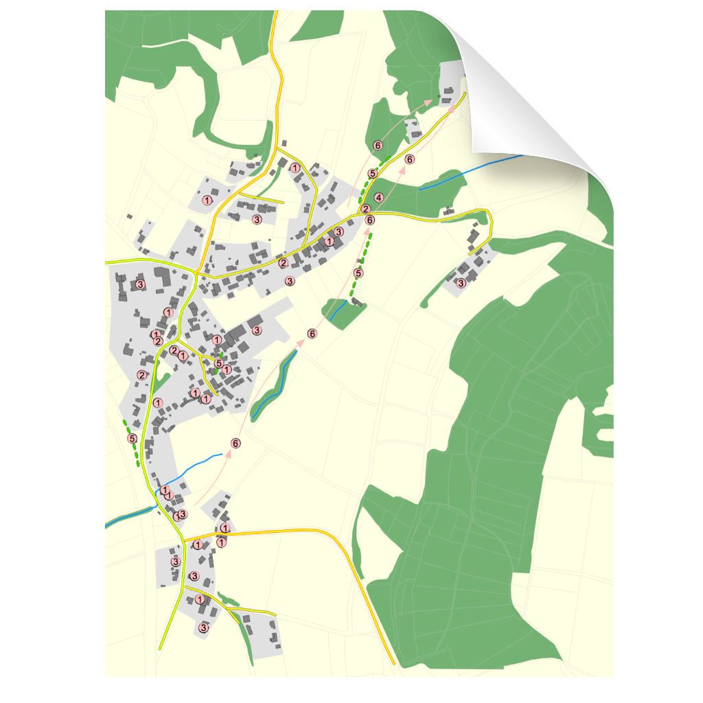 """Icon zu Protokoll zum Workshop des Arbeitskreis 2 """"Infrastruktur"""" Walkersbrunn am 30. März 2019 (Plan)"""