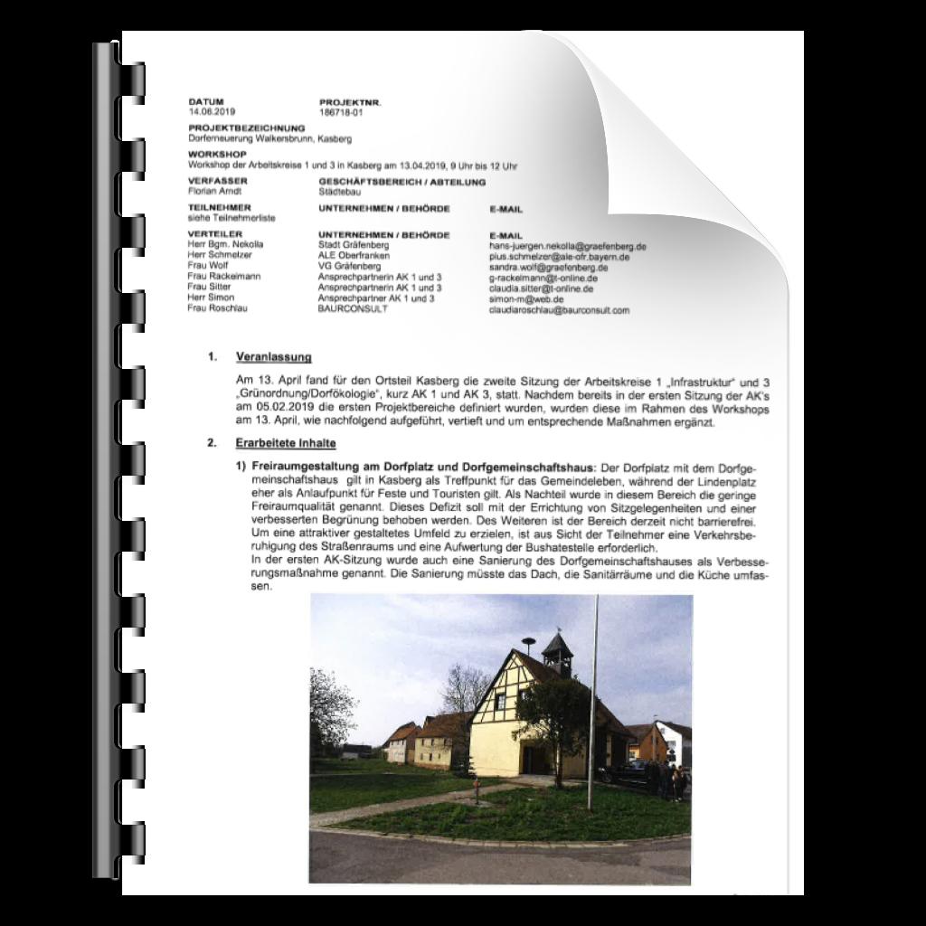 Icon zu Protokoll zum Workshop der Arbeitskreise 1 und 3 Kasberg am 13. April 2019