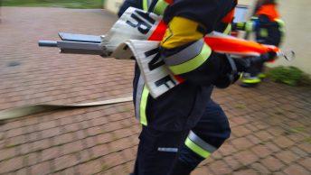 Eile ist geboten – bei der Feuerwehr Leistungsprüfung