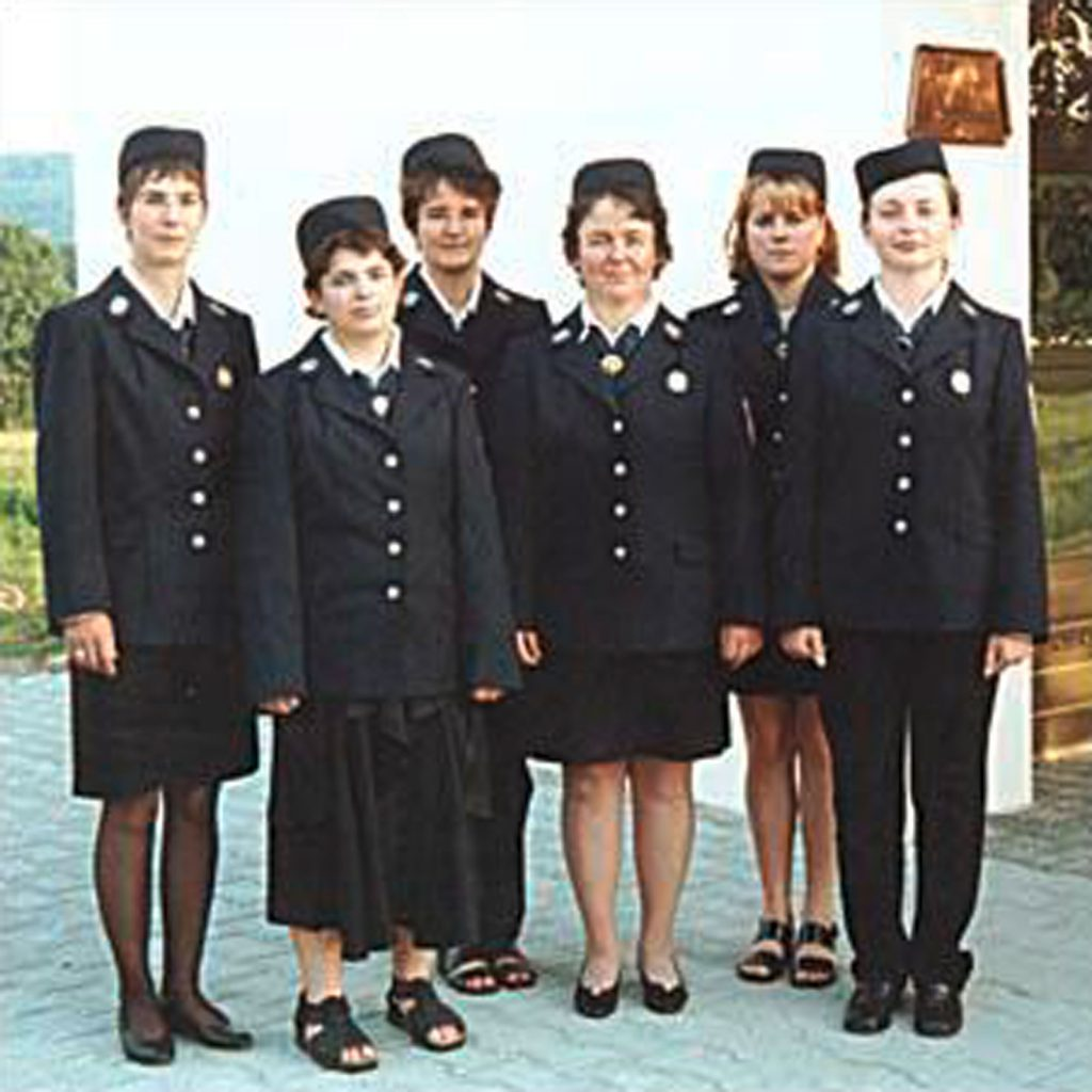 Die Frauengruppe der Freiwilligen Feuerwehr Walkersbrunn im Jahr 2001