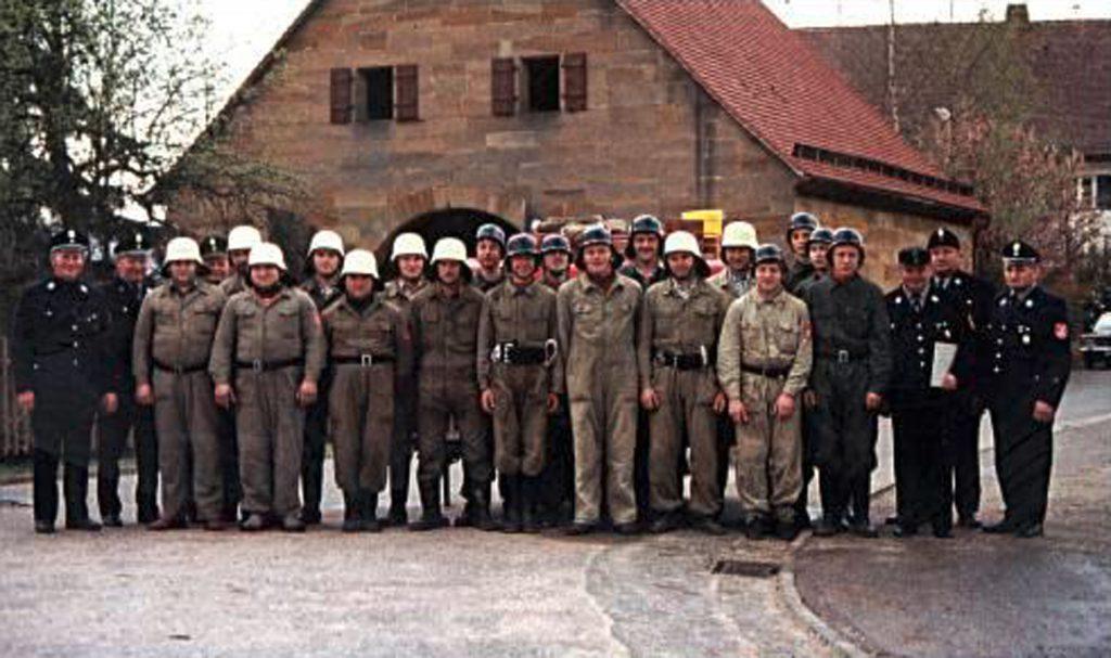 Leistungsabzeichen der FF Walkersbrunn im Jahr 1978
