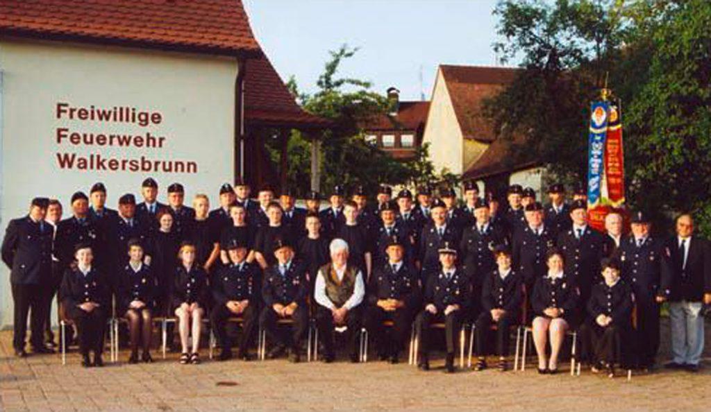 Die Freiwillige Feuerwehr Walkersbrunn im Jahr 2002