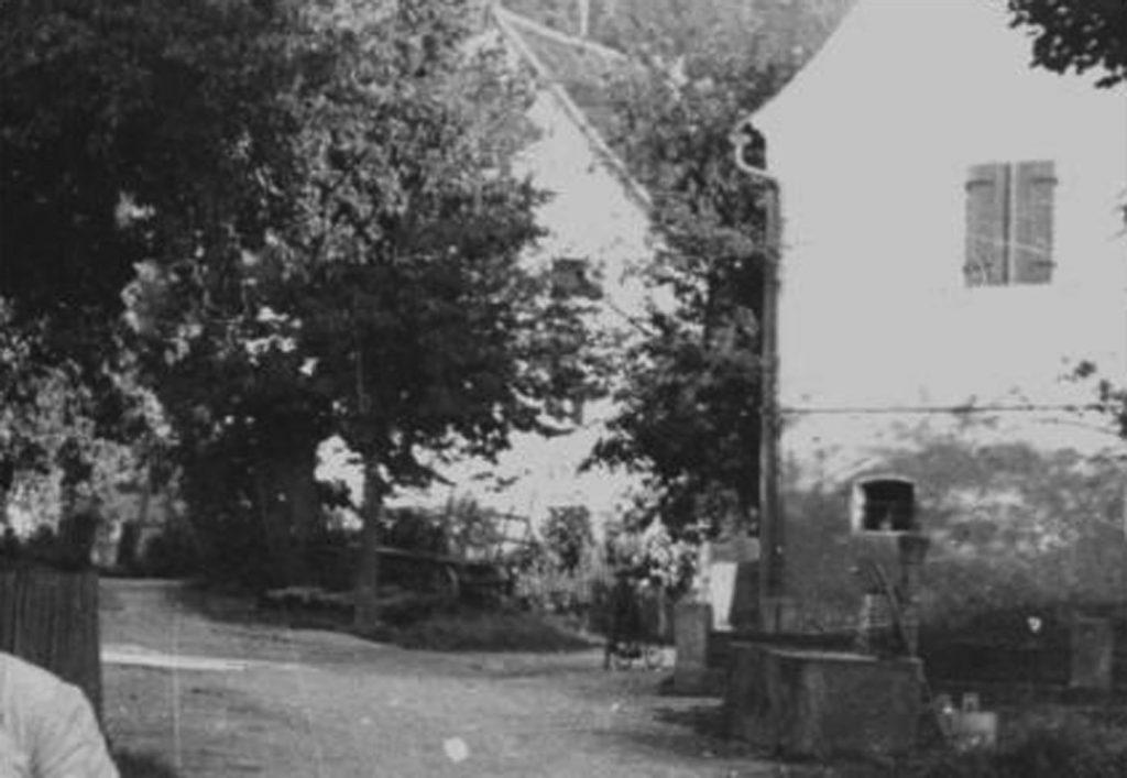 Der Heidsbrunnen um 1960