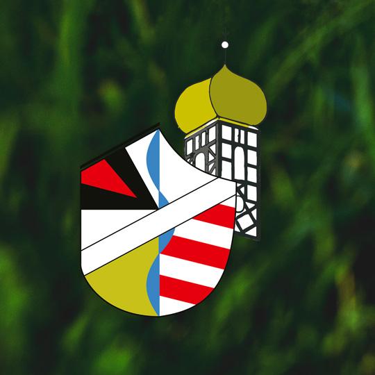 Titelbild für die Website Walkersbrunn – Das Wappen auf grüner Wiese