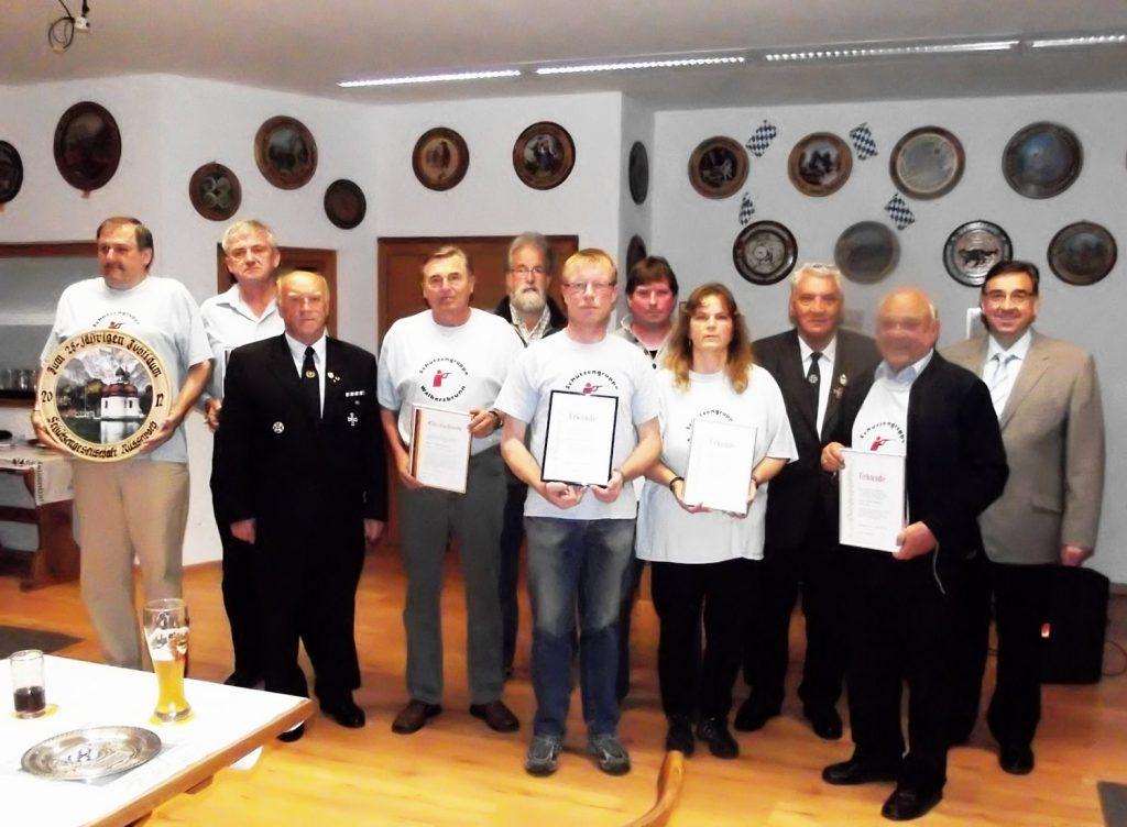 25 Jahre Schützengruppe Walkersbrunn (Rüsselbach, 22.9.2012)