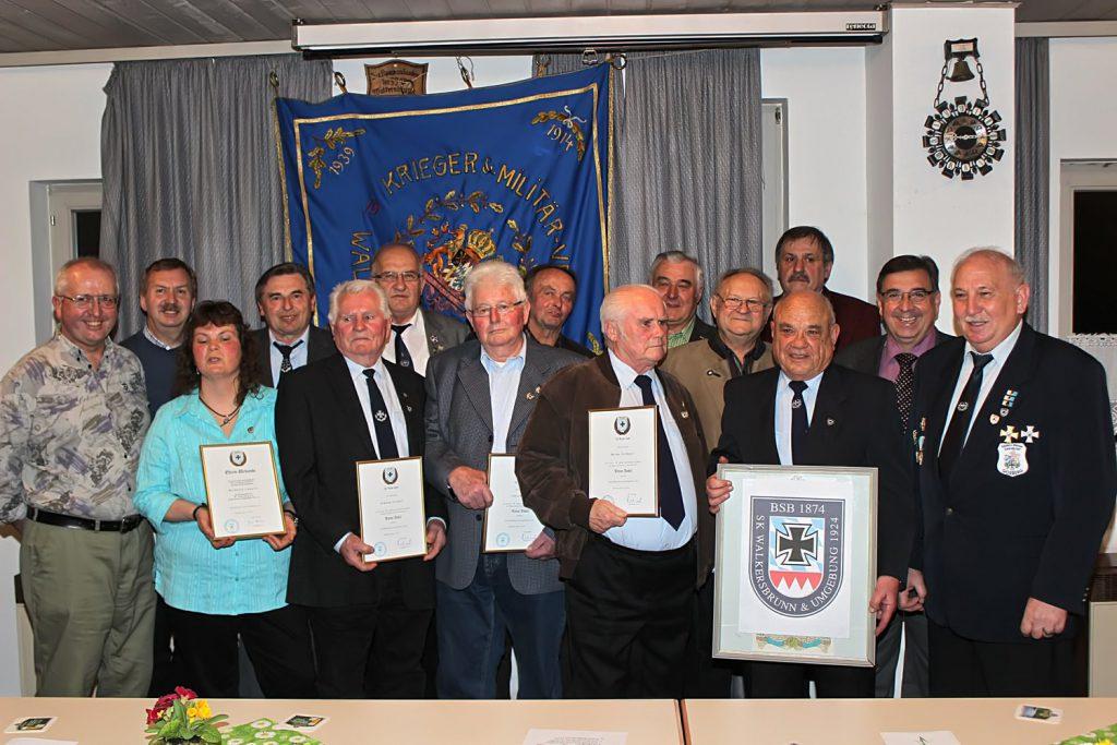 90 Jahre Schützengruppe Walkersbrunn und Umgebung