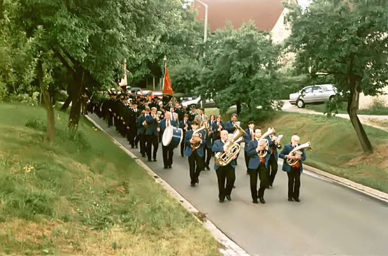 Festzug zur 975-Jahre Feier in Walkersbrunn