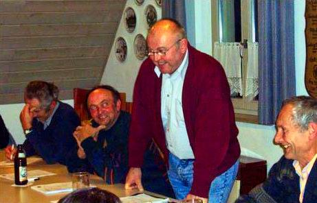 Gründungsversammlung der Dorfgemeinschaft Walkersbrunn