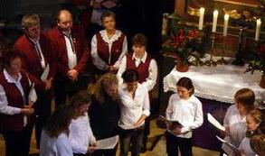 Weihnachtskonzert in der Walkersbrunner Kirche