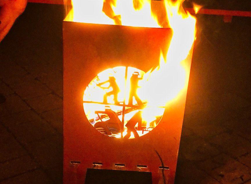 Feuerofen der Feuerwehr Walkersbrunn
