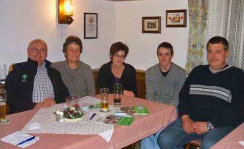 v.l.: Hans Ebenhack, Christa Igel, Andrea Hess, Bernd Gstader, Roland Merz