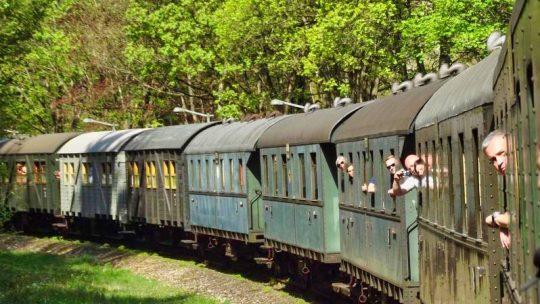 Fahrt mit der Dampfbahn Fränkische Schweiz