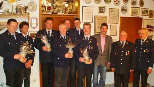 Jahreshauptversammlung der FFW Walkersbrunn 2012
