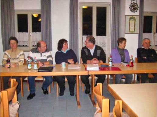 Jahreshauptversammlung des GV Walkersbrunn