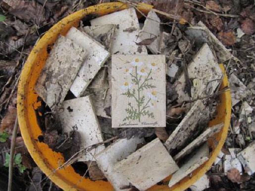"""Falls jemand seine """"verlorenen"""" Küchenfliesen sucht, sie sind jetzt auf der Deponie in Gosberg zu finden"""