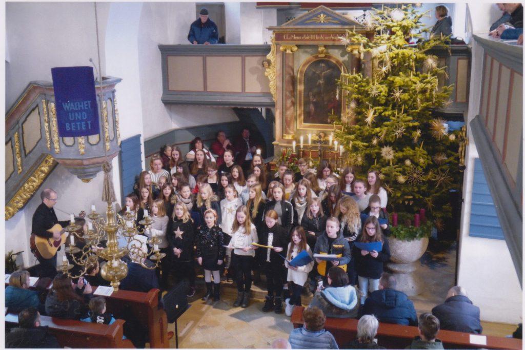 Chor- und Musikklassen der Ritter-Wirnt-Schule Gräfenberg